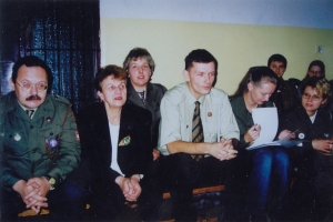 Inaugurację kampanii zaszczycili swoją obecnością harcmistrzowie: Tomasz Katafiasz, Zofia Derlatka, Tomasz Weber (komendant hufca ZHP Miastko), aleksandra Sikorska, oraz druhna Ewa Surma.